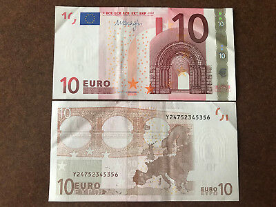 1x €10 EURO (REAL CURRENCY FOR YOUR TRAVEL) EUROPEAN UNION MONEY TO SPEND