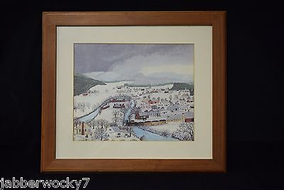 Framed Print HOOSICK FALLS IN WINTER - Grandma Moses