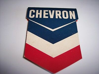 Vintage Chevron Gasoline/oil Gift 1960's Sewing Kit Chevrolet Ford Dodge Mercury