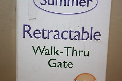 """Summer Infant 27250 31"""" Retractable Baby Gate NEW"""