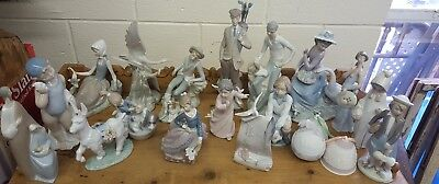 Lladro Huge Lot 20 Pieces LOOK!