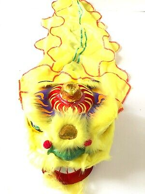 """13"""" Chinese New Year Lion Dragon Head Dance Performance Show Decoration 13"""""""