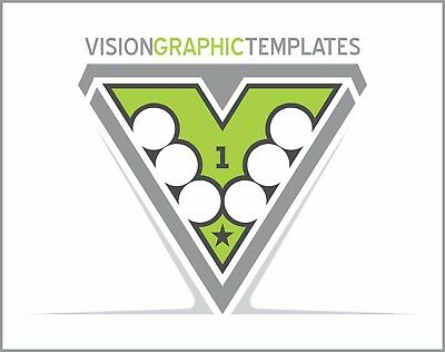 Sports ClipArt - Vision Graphic Templates CD 1- Vector Clipart Images - T Shirts