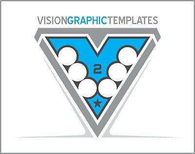 Sports ClipArt - Vision Graphic Templates CD 2 - Vector Clipart Images - T shirt