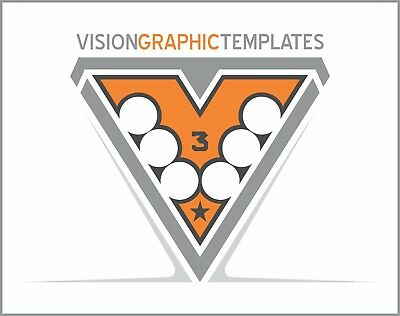 Sports ClipArt - Vision Graphic Templates CD 3 - Vector Clipart Images - T Shirt