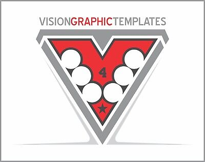 Sports ClipArt - Vision Graphic Templates CD 4 - Vinyl Cutter Plotter - Vector