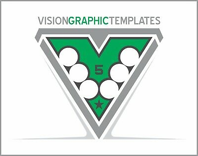 Vector Clipart Images - Vision Graphic Templates CD 5 - Vinyl Cutter Plotter