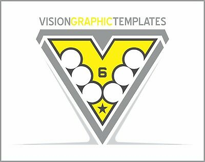 Sports ClipArt - Vision Graphic Templates CD 6 - Vector Clipart Images - T Shirt