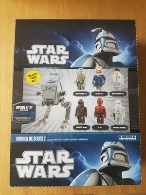 Star Wars Kubrick DX Series 2 Collection of 6 Figures
