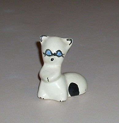 Vintage Rio Hondo California Pottery Raccoon Figurine