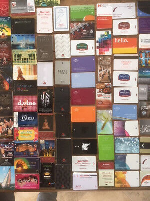 Hotel Key Card Collection, 556 in total with 282 being unique.