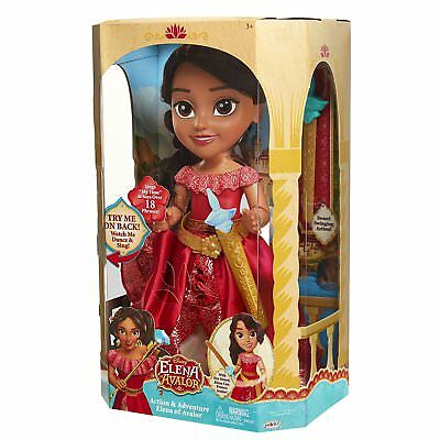 NEW Disney Elena of Avalor Action and Adventure Girls Dancing & Singing Doll Toy