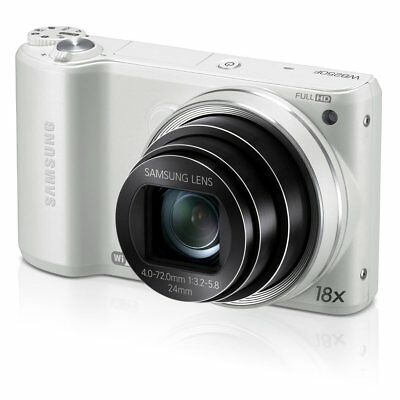 Samsung WB Series WB250F 14.2MP Digital Camera - White