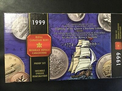 1999 Canada Silver Commemorative Special Proof Coins Set!