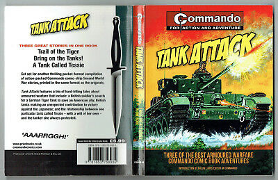 COMMANDO: Tank Attack (Carlton Books 2013) collects 3 Tank issues 733,729,1205