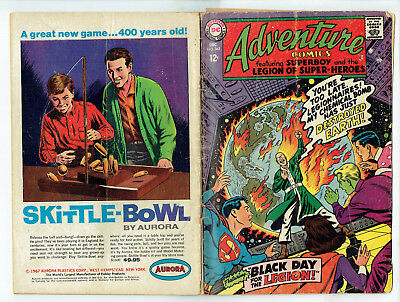Adventure Comics 363 (DC 1967) Superboy & Legion of Super-Heroes