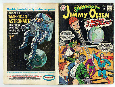 Superman's Pal Jimmy Olsen 105 (DC 1967) The World of 1000 Olsens