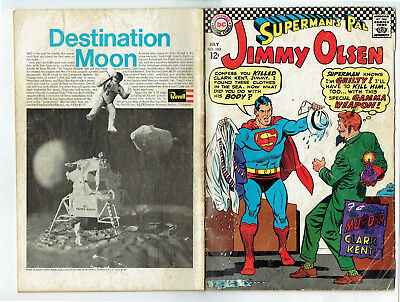 Superman's Pal Jimmy Olsen 103 (DC 1967) The murder of Clark Kent