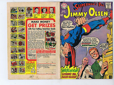 Superman's Pal Jimmy Olsen 109 (DC 1968) Luthor's Pal, Jimmy Olsen