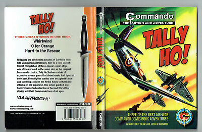 COMMANDO:Tally Ho! (Carlton Books 2011) collects 3 Air-War issues 640, 977, 750