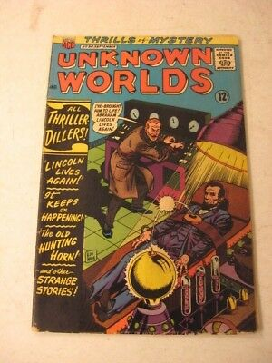 Unknown Worlds Sept 1966 No. 50  Best Syndicated Features Comic