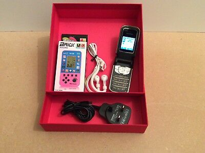 Siemens Vintage Mobile Phone Fully Working With Handheld Game Accessories