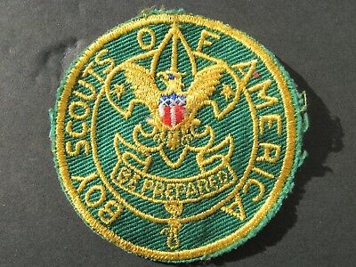 """Boy Scouts Of America Bsa 1970's """"be Prepared"""" Position Patch Asst. Scoutmaster"""