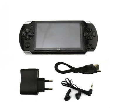 8GB 4.3'' 32Bit Portable Handheld 10000 Games Built-In Video Game Console Player