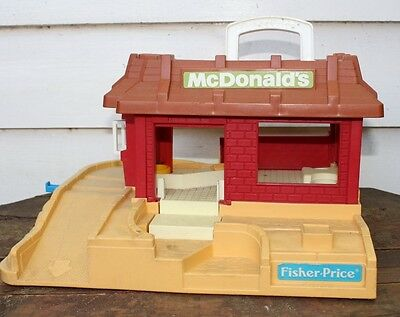 Fisher Price Mcdonalds Playset Building - Damaged and Heavily Playworn