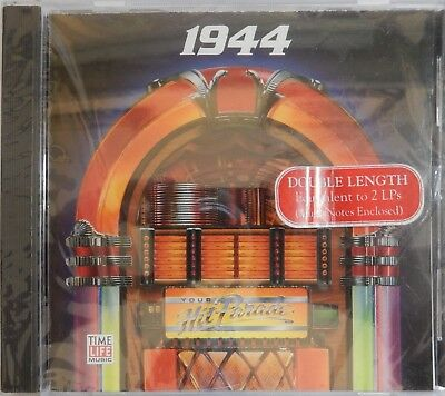 Time Life Your Hit Parade 1944 by Various Artists (CD 1990) 24 Songs NEW -crack