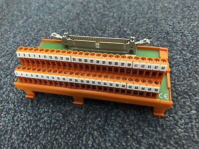 Weidmuller 022456 50-way IDC Interface Module (equivalent to RS 403-342)