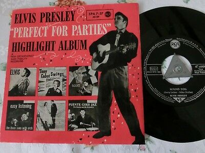 Elvis  Perfect For Parties SPA 7-37