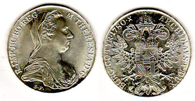 Österreich Maria Theresia Silber 1780 S.f. - Stgl