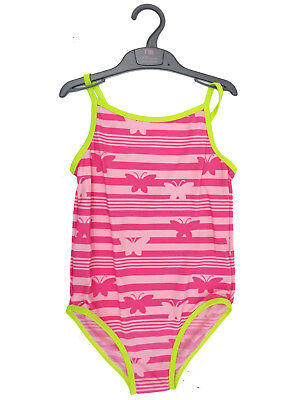 Mothercare Baby Girls Pink Butterfly Swimsuit/Swimming Costume - BNWOT