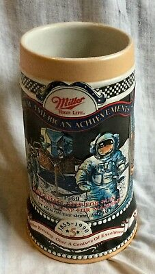 Miller Great American Events Apollo 11 Man on the Moon  Beer Stein 5th in Series
