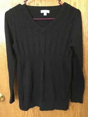 Liz Lange Maternity Size XS Sweater Black