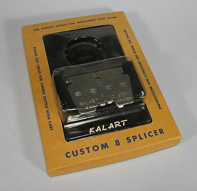 Vintage KALART Custom 8 Splicer - for 8mm film - In Original Package