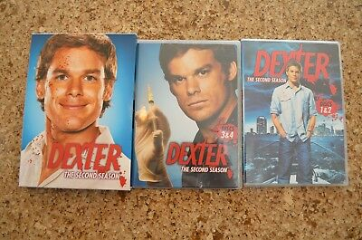 Dexter - The Complete Second Season (DVD, 2008, 4-Disc Set) - USED/Free Shipping