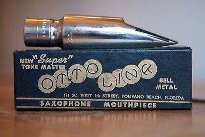 Vintage Otto Link 6* Florida tenor saxophone mouthpiece (early 50's) Single Line