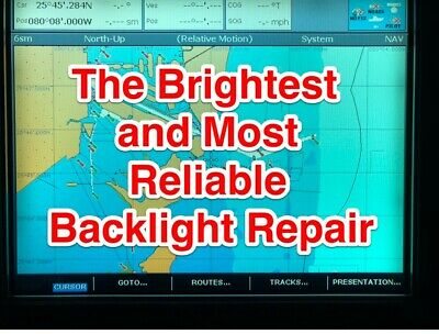 Raymarine E120 Backlights Permanently Repaired!