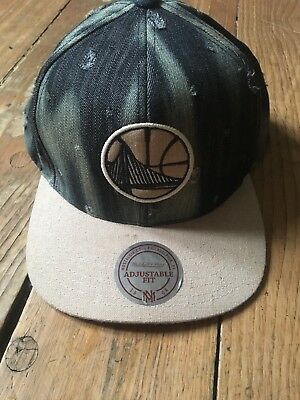 golden state warriors cap Mitchel & Ness NBA