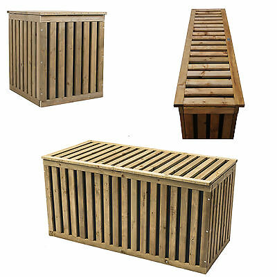 auflagenbox balkon awesome l perattan gartenbox. Black Bedroom Furniture Sets. Home Design Ideas