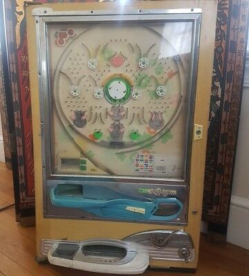 Vintage Japanese PACHINKO Pinball Machine by NISHIJIN