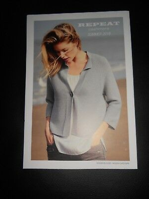 Repeat Cashmere Doutzen Kroes Poster Katalog Lookbook Summer 2018 Catalog