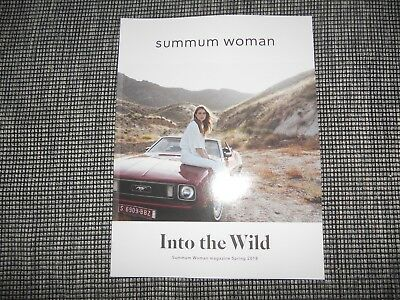Summum Woman Magazine Spring 20188 Katalog Lookbook Catalog Into The Wild