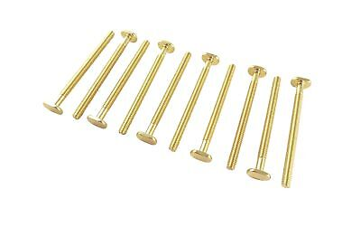 """Lot of 10 each Sliding Tee Bolts with 1/4 20 Threads 2 1/4"""" Long for Jigs and..."""