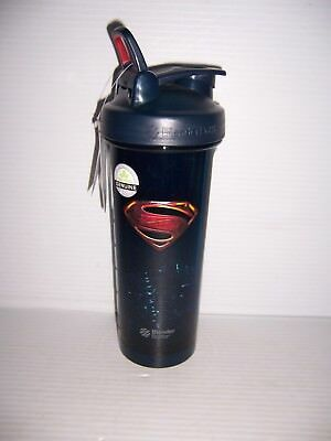DC Comics Superman Pro 32 Blender Bottle Protein Sports Powder Mixing Cup NEW