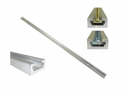 """24"""" Aluminum T Track 3/4"""" by 3/8"""" Slot, Accepts 1/4"""" Hex Bolts, 1/4"""" or 5/16""""..."""
