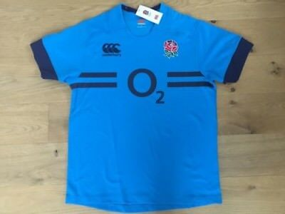 ENGLAND RUGBY TRAINING SHIRT (Size L) BNWT - Player Issue