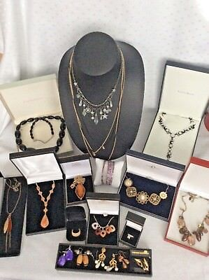 Job Lot Mixed Vintage & Modern Costume Jewellery